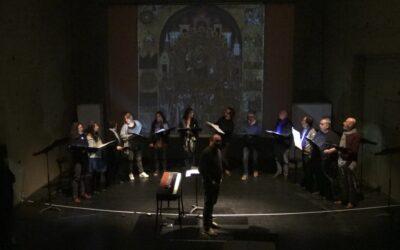 Retour sur la venue de Musicatreize avec la création «Chanter l'Icône»